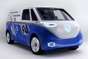 Volkswagen I.D. Buzz Cargo Concept Is The Future Delivery Van