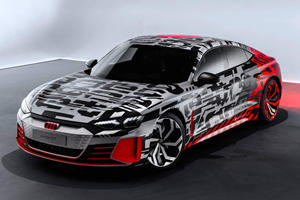 Audi e-tron GT Concept Arrives Before Official Debut
