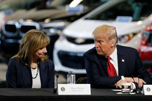 President Trump Threatens GM's EV Subsidies Over Layoffs
