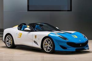 Ferrari SP3JC Uniquely Previews The 812 Aperta To Come