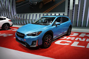 2019 Subaru Crosstrek Hybrid Lands In The City Of Angels