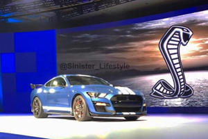 All-New Ford Mustang GT500 Confirmed For Detroit In January