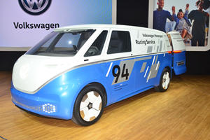 Volkswagen I.D. Buzz Cargo Concept Makes First Delivery In LA