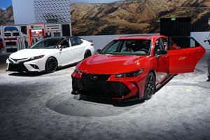 Toyota Camry And Avalon TRD Debut In LA With Sporty Styling
