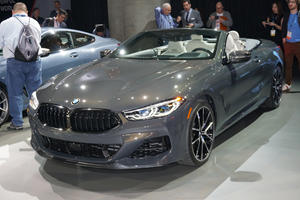 2019 BMW 8 Series Convertible Takes A Bow In LA