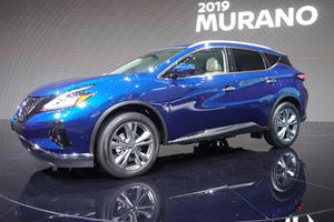 2019 Nissan Murano Arrives In LA With New Style And New Tech
