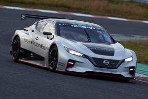 Nissan Leaf Nismo RC Is A Stunning Electric Race Car