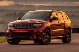 This Is How Much The Jeep Grand Cherokee Trackhawk Costs In The UK