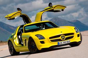 Mercedes-AMG GT Could Morph Into SLS Electric Drive Successor