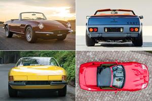 Stunning Quartet Of Ferrari V12 Convertibles Head To Auction