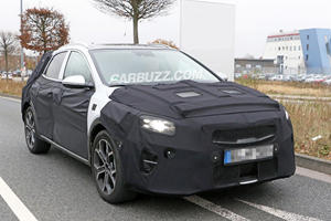 Is This Our First Look At Kia's New Compact Crossover?