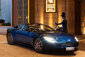 Stay At The Waldorf, Drive An Aston Martin