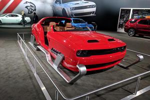 Dodge Gets Festive, Turns Hellcat Into Santa's Sleigh