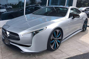 Could The Struggling Mercedes SL Be Revitalized As An Electric Roadster?