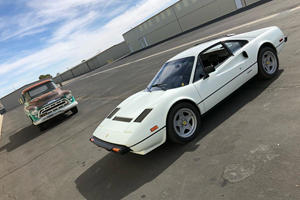 Jay Leno Learns Why This Stunning White Ferrari 308 GTB Is Priceless