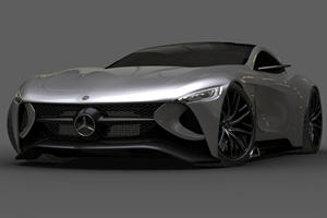 Mercedes SLR Vision Concept Is A Stunning Look At The Future
