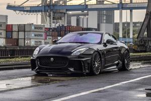 Jaguar F-Type SVR Transformed Into 700-HP 'Race Cat'