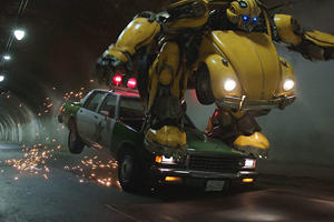 Bumblebee Will Deliver Some Crazy Car Action This Christmas