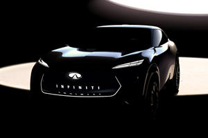Infiniti Previews Stunning Electric SUV To Rival Tesla Model X