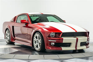 Ford Mustang Upgraded With Lamborghini Guts