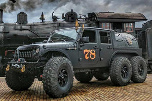 This Steam-Powered, Six-Wheeled Jeep Is The Meanest Truck Of All Time
