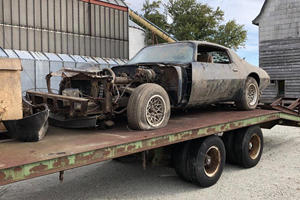 Steve McQueen's Final Movie Car Found Rotting In A Barn