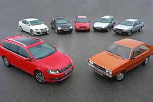 Volkswagen Passat Celebrates 45th Birthday