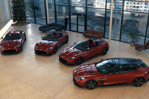 One Guy Bought All Four Aston Martin Vanquish Zagatos