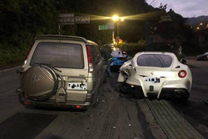 Man Who Crashed Into Four Ferraris Gets Help To Pay For Damages