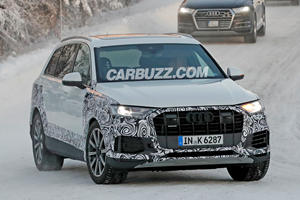 Looks Like The Audi Q7 Is Getting A New Face