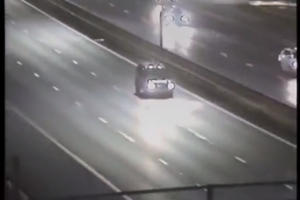 British Police Show How To Deal With Idiot Driving Wrong Way Down A Highway