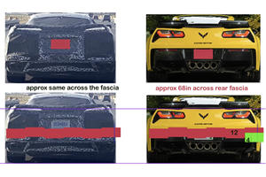 Check Out This C7 Vs C8 Corvette Side-By-Side Comparison