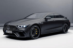 Mercedes-AMG GT 4-Door Looks Meaner Than Ever