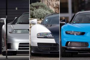 Chiron, Veyron, Or EB110: Take Your Pick Of Bugattis In Paris
