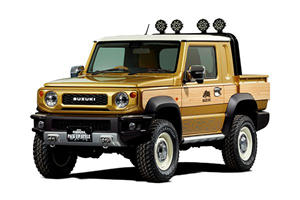 The Suzuki Jimny Pickup Concept Is The Type Of Truck America Can't Have