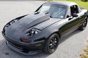 Mazda Miata Gets Extreme Makeover With 6.7-Liter V8