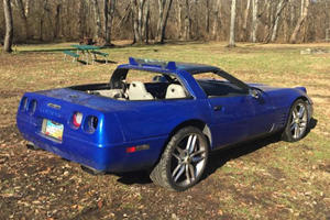 Why Is This Gutted C4 Corvette Worth $6,000?