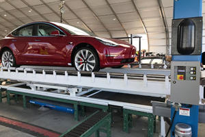 Watch A Tesla Model 3 Get Assembled In Less Than One Minute