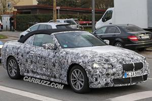This Is Our First Look At The BMW 4 Series Convertible's Interior
