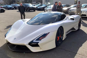 This Is What 1,750-HP Of American Supercar Sounds Like