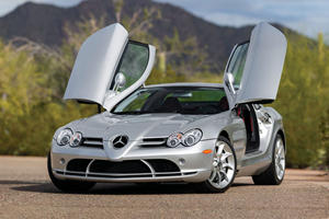The Mercedes SLR Is A Supercar Bargain