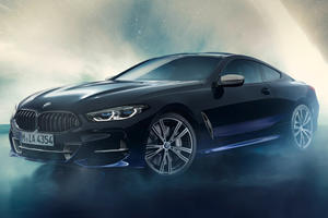 One-Off BMW 8 Series Features Materials From Outer Space
