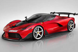 Rich Dude Gives LaFerrari Extreme Carbon Fiber Makeover