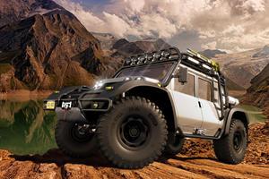 Hypercar Maker Creates Epic Racing Offroader