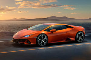 Say Hello To The New Lamborghini Huracan Evo