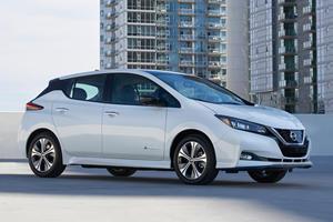 2019 Nissan Leaf E+ Revealed With Significantly Longer Range