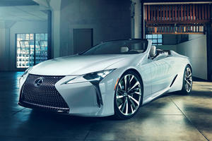Presenting The Stunning Lexus LC Convertible Concept