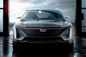 This Is Cadillac's New Electric Crossover