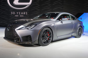 Lexus Says 5.0-Liter V8 Isn't Going Anywhere