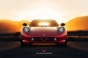 Stunning Concept Shows How To Save The Alfa Romeo 4C